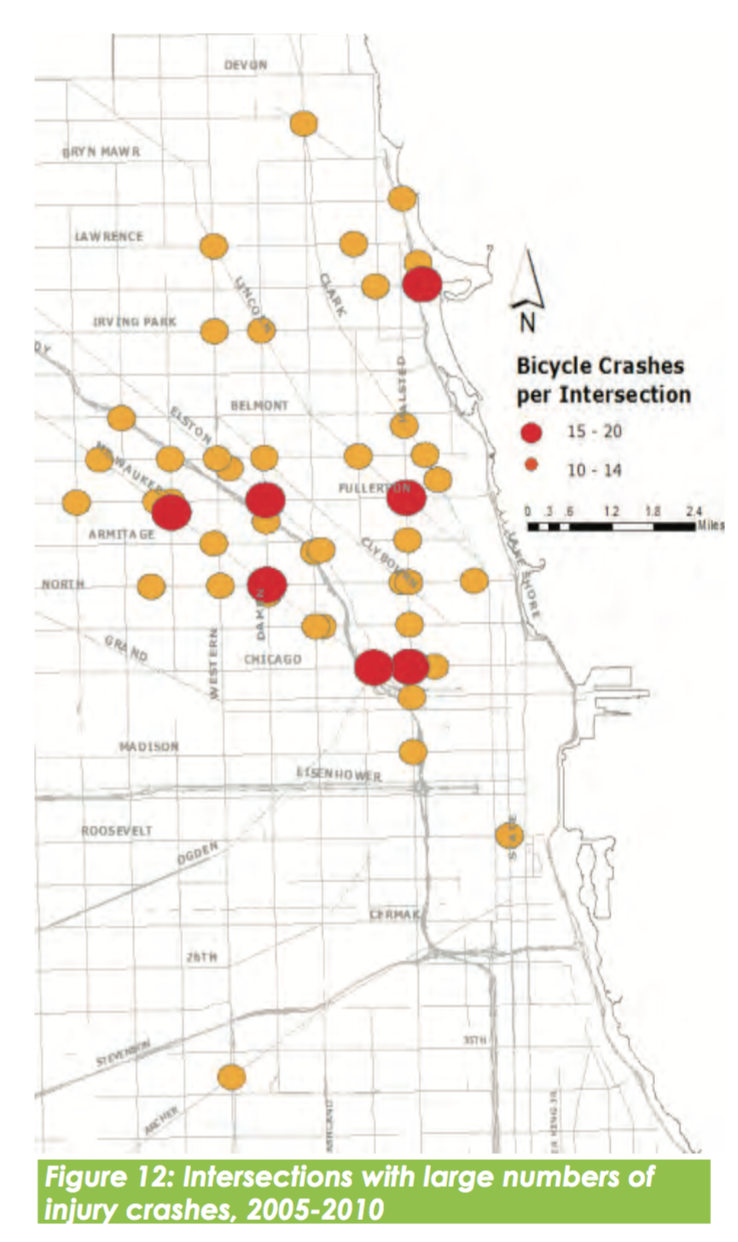 5 years ago these were named Chicagos deadliest intersections